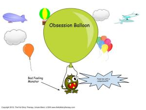 1st page obsession balloon